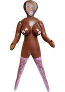 Mercedes Inflatable Love Doll - Chocolate